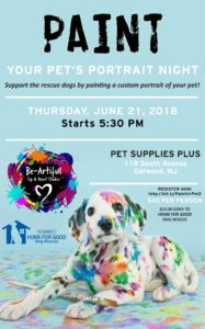Paint Your Pet's Portrait Night @ Pet Supplies Plus | Garwood | New Jersey | United States