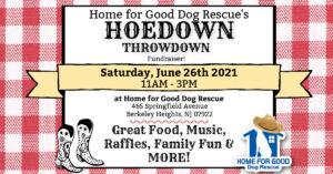 HFGDR Hoedown Throwdown Fundraiser 2021 @ Home for Good Dog Rescue