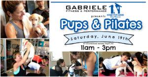 Pups & Pilates! @ Gabriele Fitness